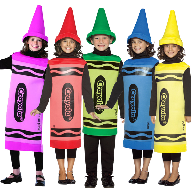 Image result for fancy dress crayola children