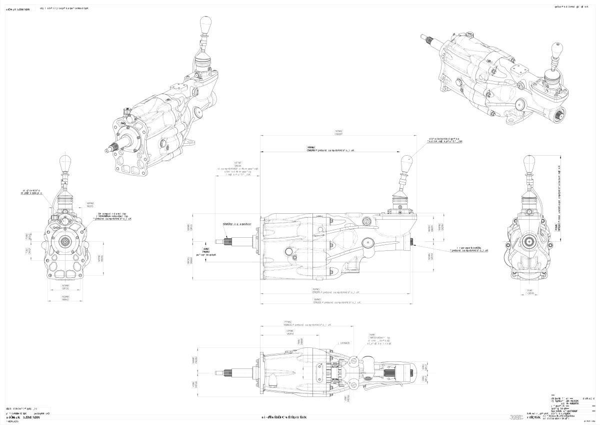 Quaife Caterham 6 Speed In Line Sequential Gearbox