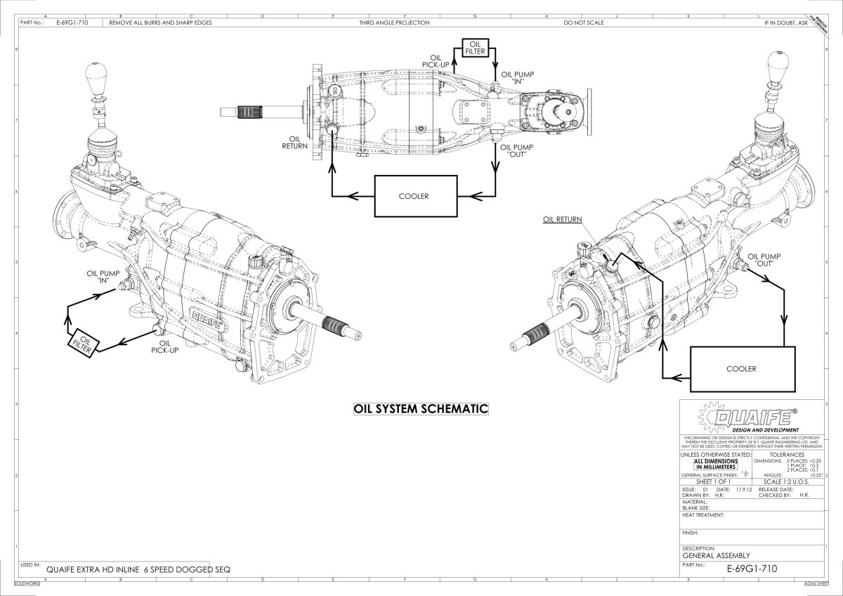 Quaife For Chevrolet Chevy Ls 6 Speed Rwd Sequential