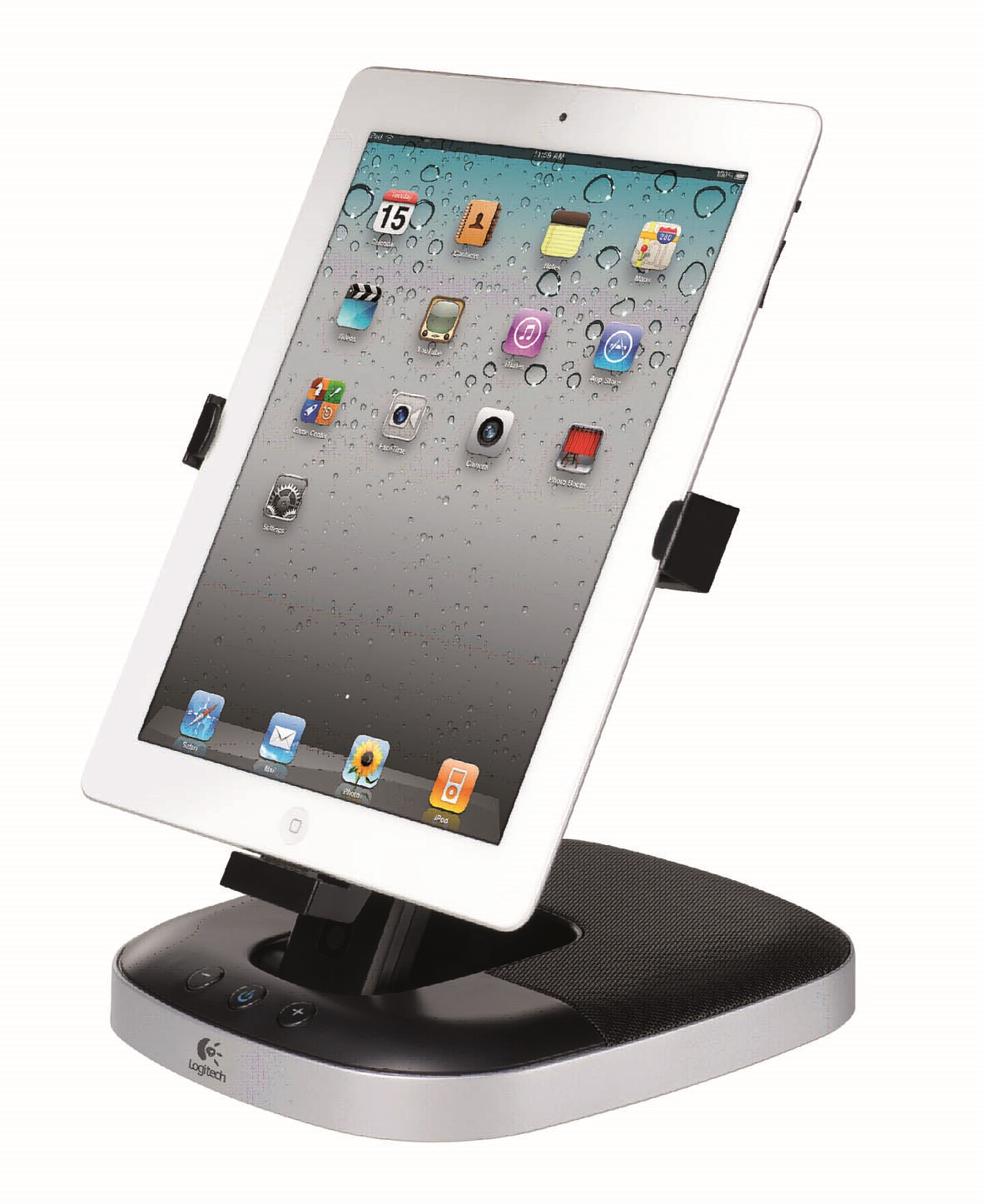 Logitech Speaker Stand Dock Amp Charge For Apple Ipad Ipad 2
