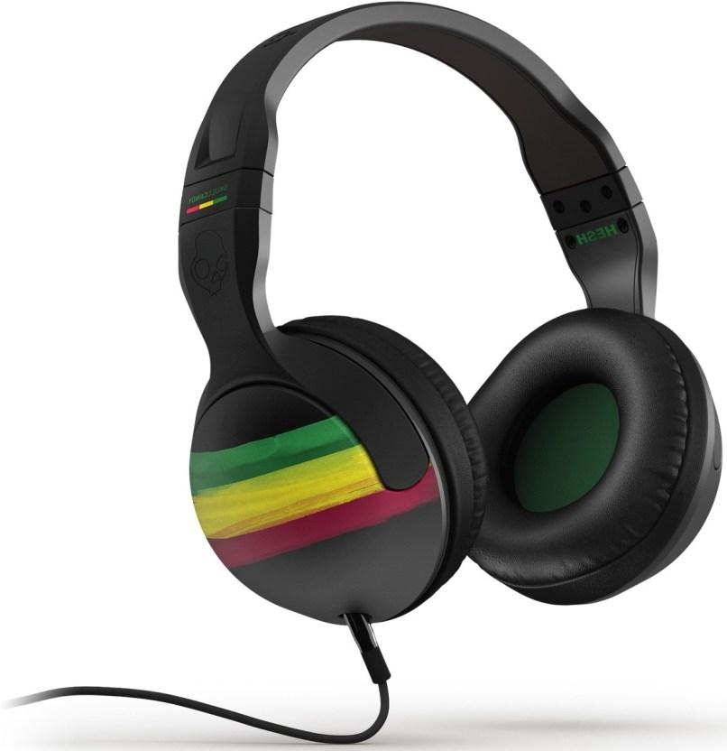 618baf0a1f2 Skullcandy Hesh 2 0 Wired On Ear Rasta Headphones 878615038523