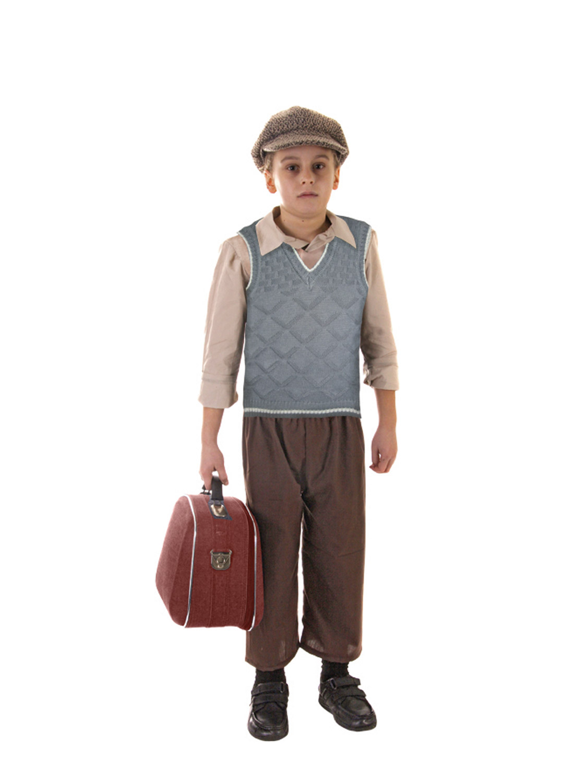 Evacuee Boy Fancy Dress Ww2 S Child Kids Boys World