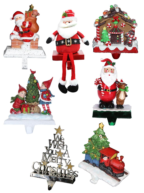 Gisela Graham Christmas Stocking Hanger Xmas Tree Santa Train Gingerbread House Ebay