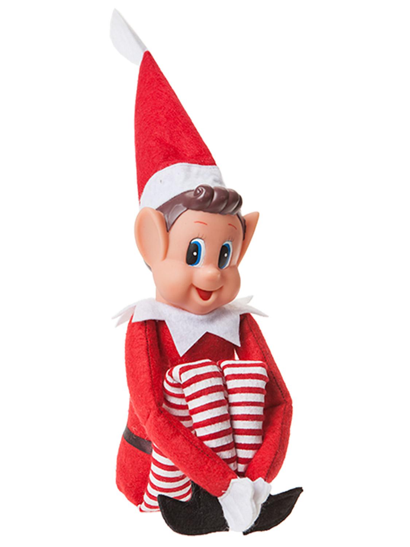 12 6 Christmas Elf Naughty Cheeky Decoration Santas