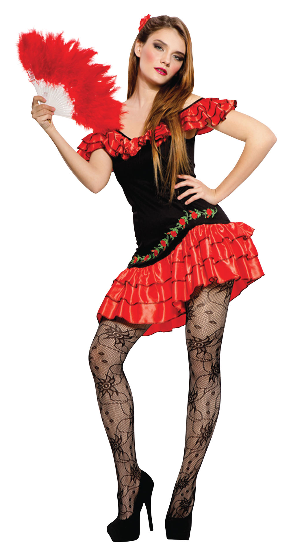 Sexy Spanish Lady Costume Valentines Day Costumes Mega