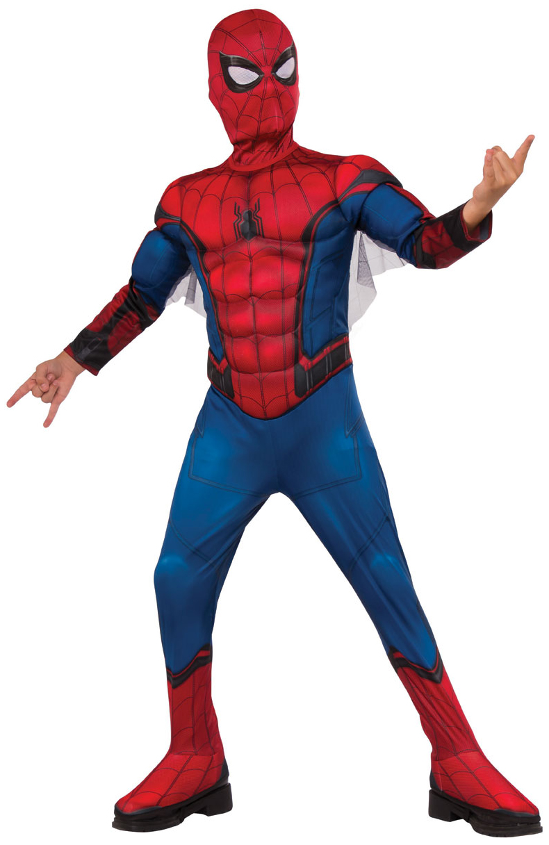 Deluxe Spider-Man Homecoming Boys Costume | Spider-Man ...