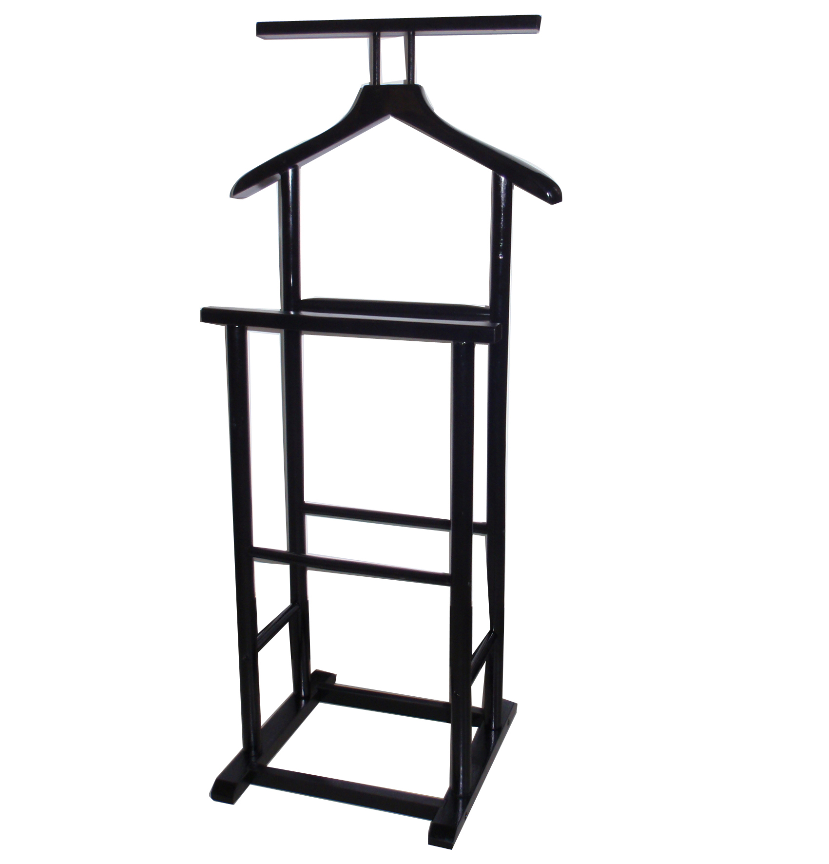 New Single Double Coat Clothes Valet Butler Garment Stand