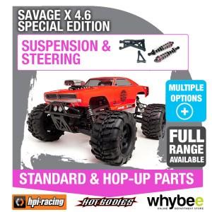 HPI SAVAGE X 46 SPECIAL EDITION [Steering & Suspension