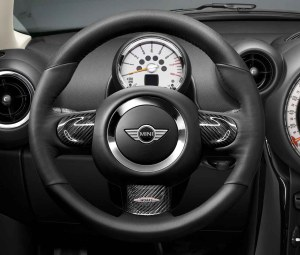 MINI Genuine JCW Sport Steering Wheel Trim Cover Carbon