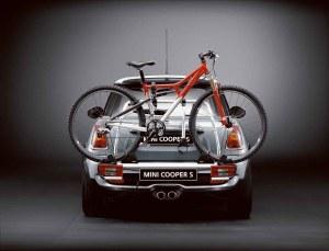 MINI Genuine Rear Carrier Rack Tow Bar Long Bicycle Spacer R56 R57 82710421329 | eBay