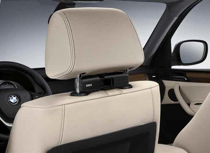BMW Genuine Headrest Base Attachment Carrier Holder Mount