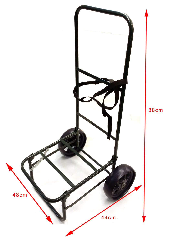 Bison Folding Fishing Seat Box Trolley Choice Of 3 Models