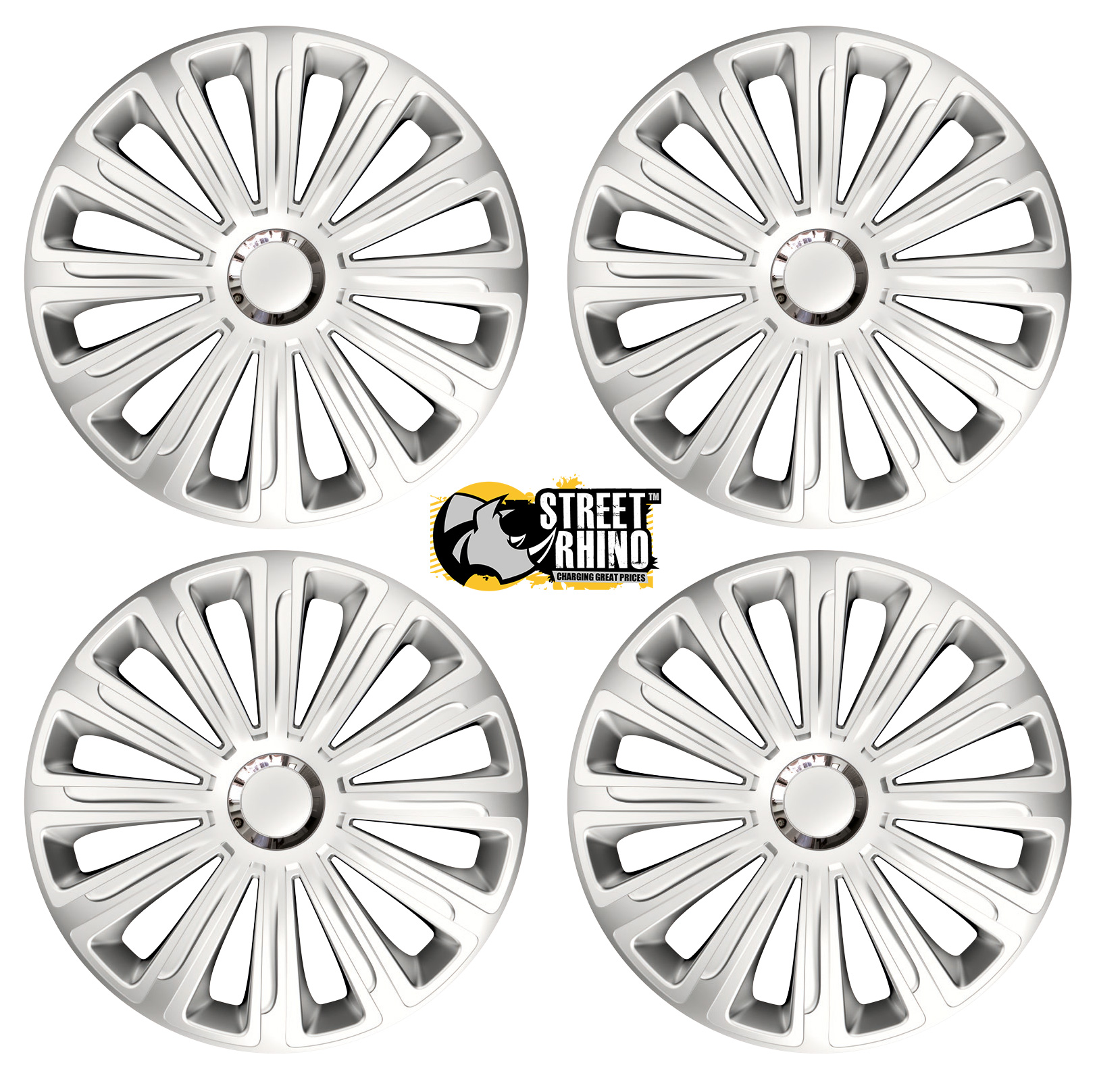 15 Universal Trend Rc Wheel Cover Hub Caps X4 Ideal For