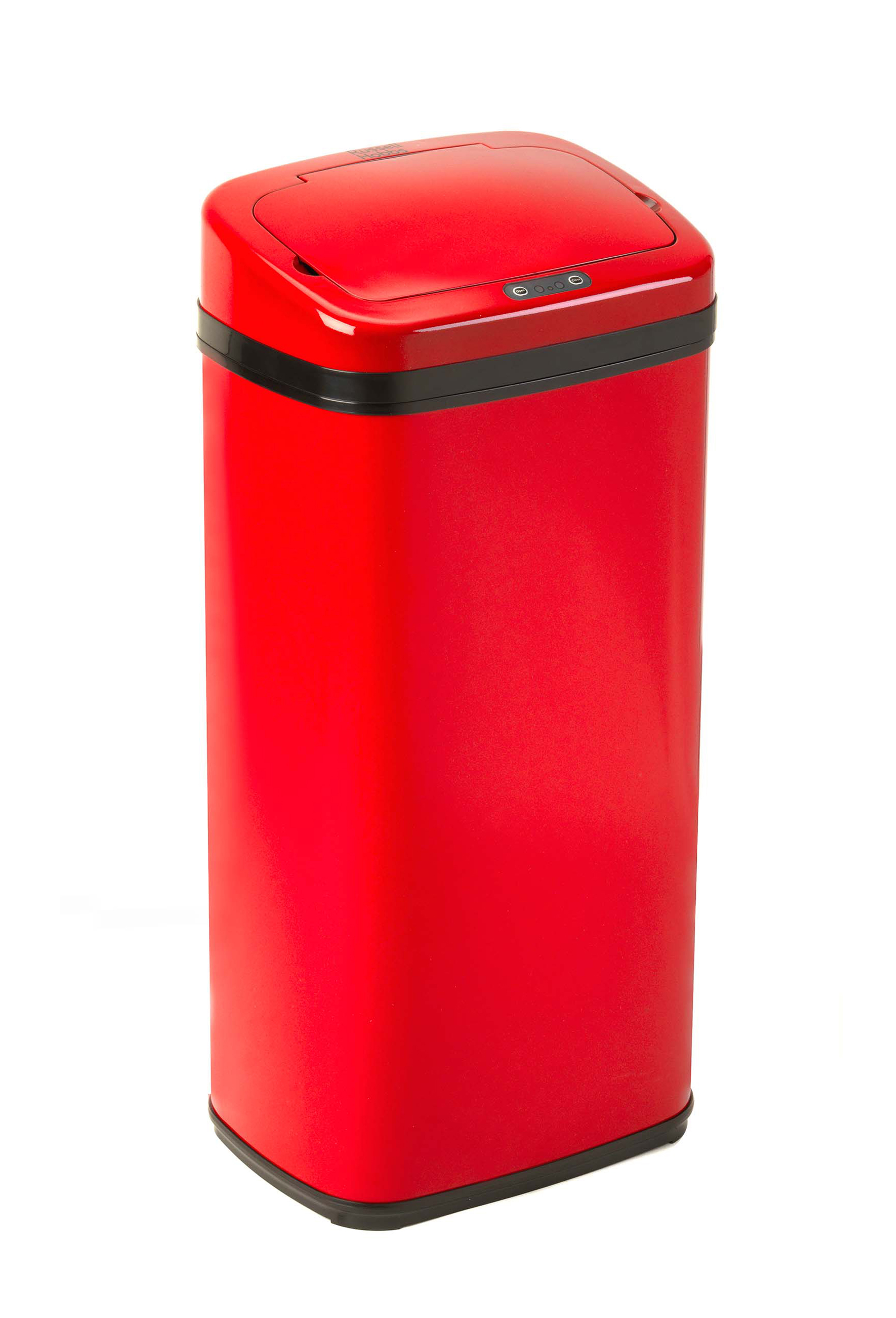 Russell Hobbs BW04513 Square 50L Sensor Bin Red Russell