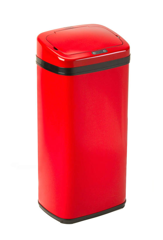 Russell Hobbs BW04513 Square 50L Sensor Bin Red Home Accessories No1Brands4You