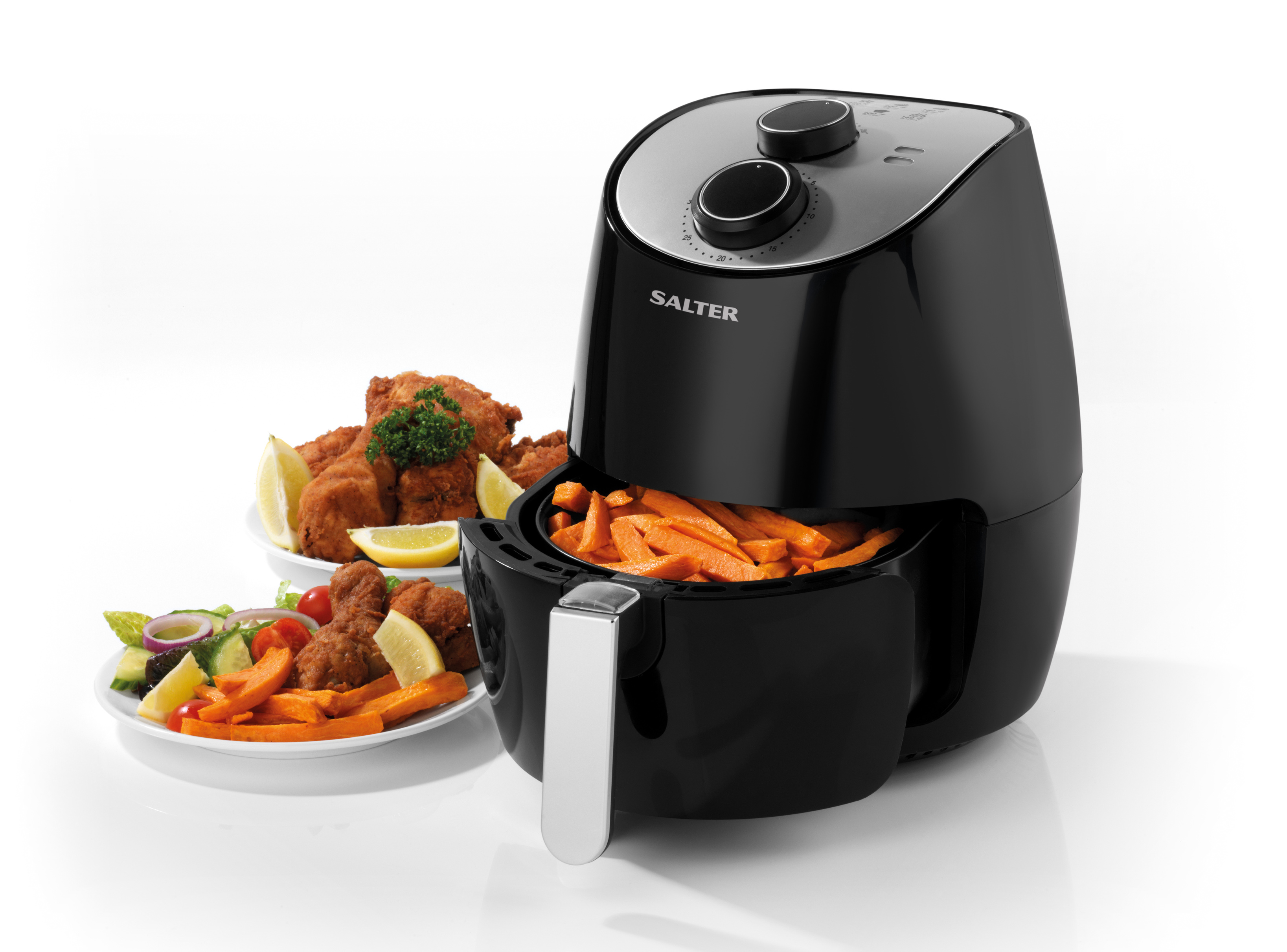 Salter Healthy Cooking Air Fryer 3 2 Litre W