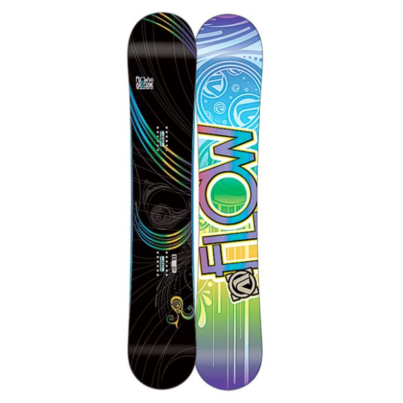 Flow Elation 149cm Womens Cambered Snowboard 2012