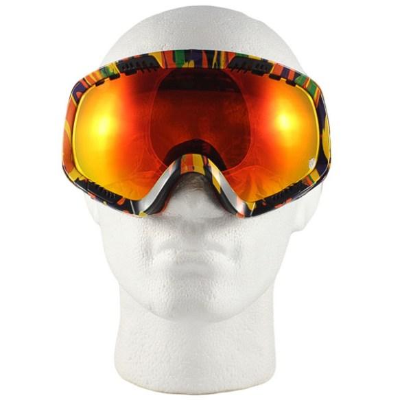 Von Zipper Feenom snowboard goggles 2012 in Drip Mop John Jackson Fire Chrome