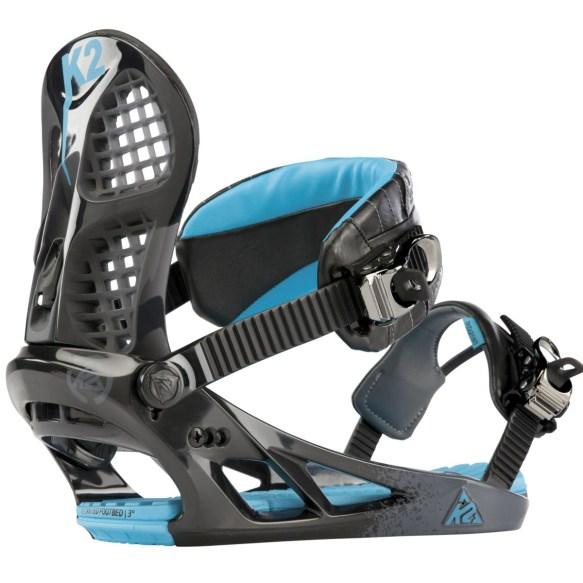 K2 Hurrithane Snowboard Bindings 2013 Black