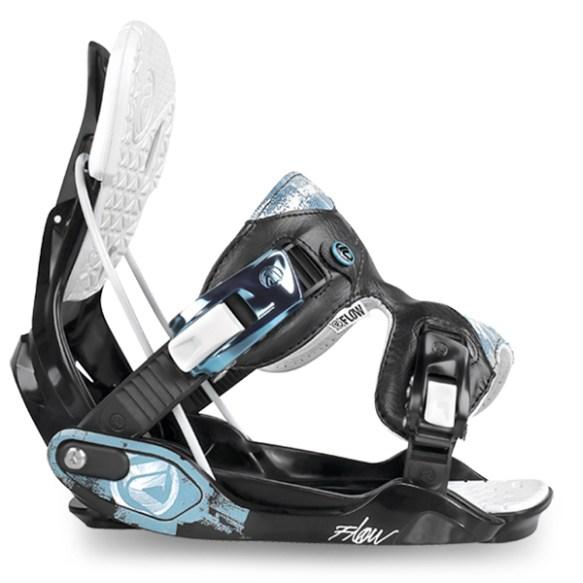 Flow Minx Womens Snowboard Bindings 2013 Black