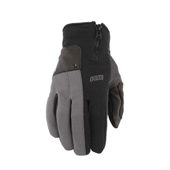 Pow Gloves Barker Snowboard Ski Gloves 2013 in Grey