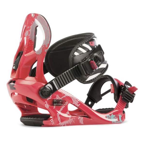 K2 Kat Girls Snowboard Bindings 2013 Kids Pink Small