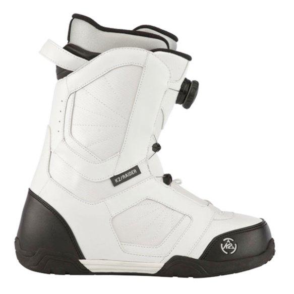 K2 Raider BOA Mens Snowboard Boots White 2013