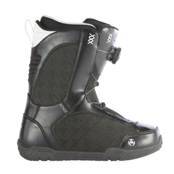 K2 Sendit BOA Womens Snowboard Boots Black 2013 Various Sizes