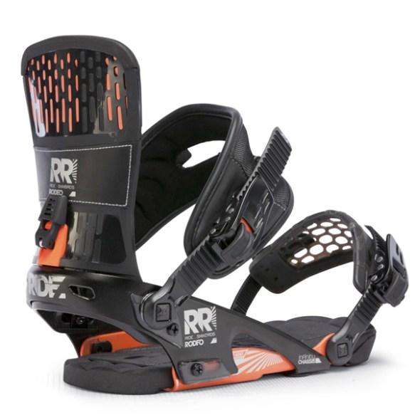 Ride Rodeo Snowboard Bindings 2013 in Black Medium