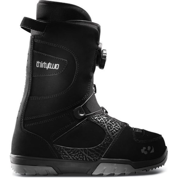 32 ThirtyTwo STW Boa Mens Snowboard Boots 2013 in Black