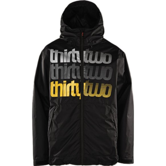 Thirtytwo Shakedown Insulated Snowboard Jacket 2013 in Black