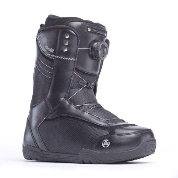 K2 Sendit BOA 2014 Sample Womens Snowboard Boots New Black 2014 UK 5.5