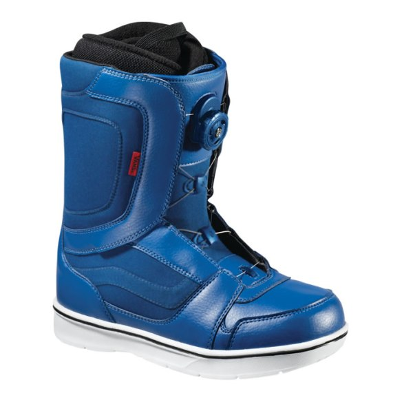 Vans Encore Boa Mens Snowboard Boots 2013 in Blue White