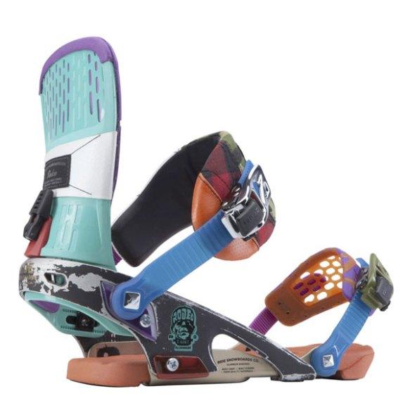 Ride Rodeo Snowboard bindings Franken 2014