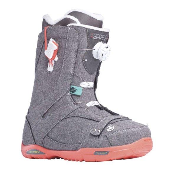 K2 Sapera BOA Womens Snowboard Boots 2014 in Gray