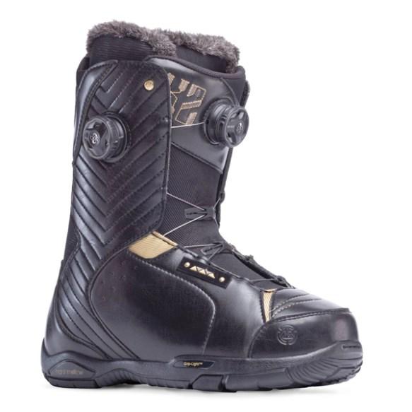 K2 Contour BOA Womens Snowboard Boot 2014 in Black