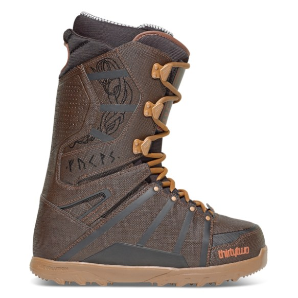 ThirtyTwo Mens Lashed Larsen Snowboard Boots 2014 in Dirty Wash