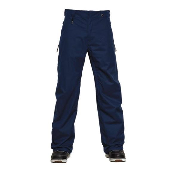 686 Dickies Work Snowboard Pants Navy Blue 2015 Large Sample