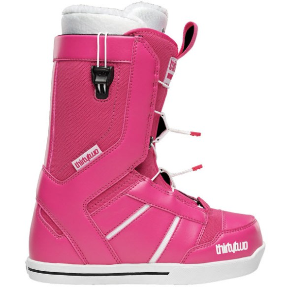 Thirtytwo 32 Womens 86 FT Fast Track Snowboard Boots New Sample Pink 2014 UK 4.5