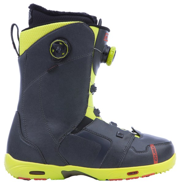 Ride Lasso Mens Snowboard Boots 2015 Charcoal