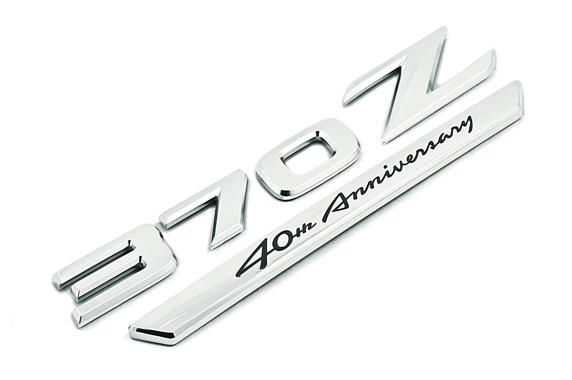Nissan Genuine 370z 40th Anniversary Badge Emblem Rear