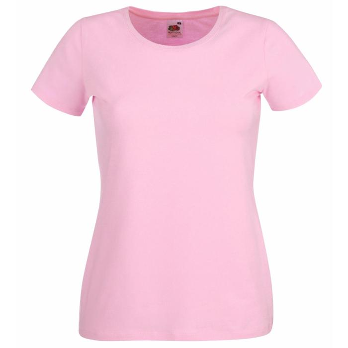 New Fruit of the Loom Womens Lady Fit Crew Neck T Shirt 7