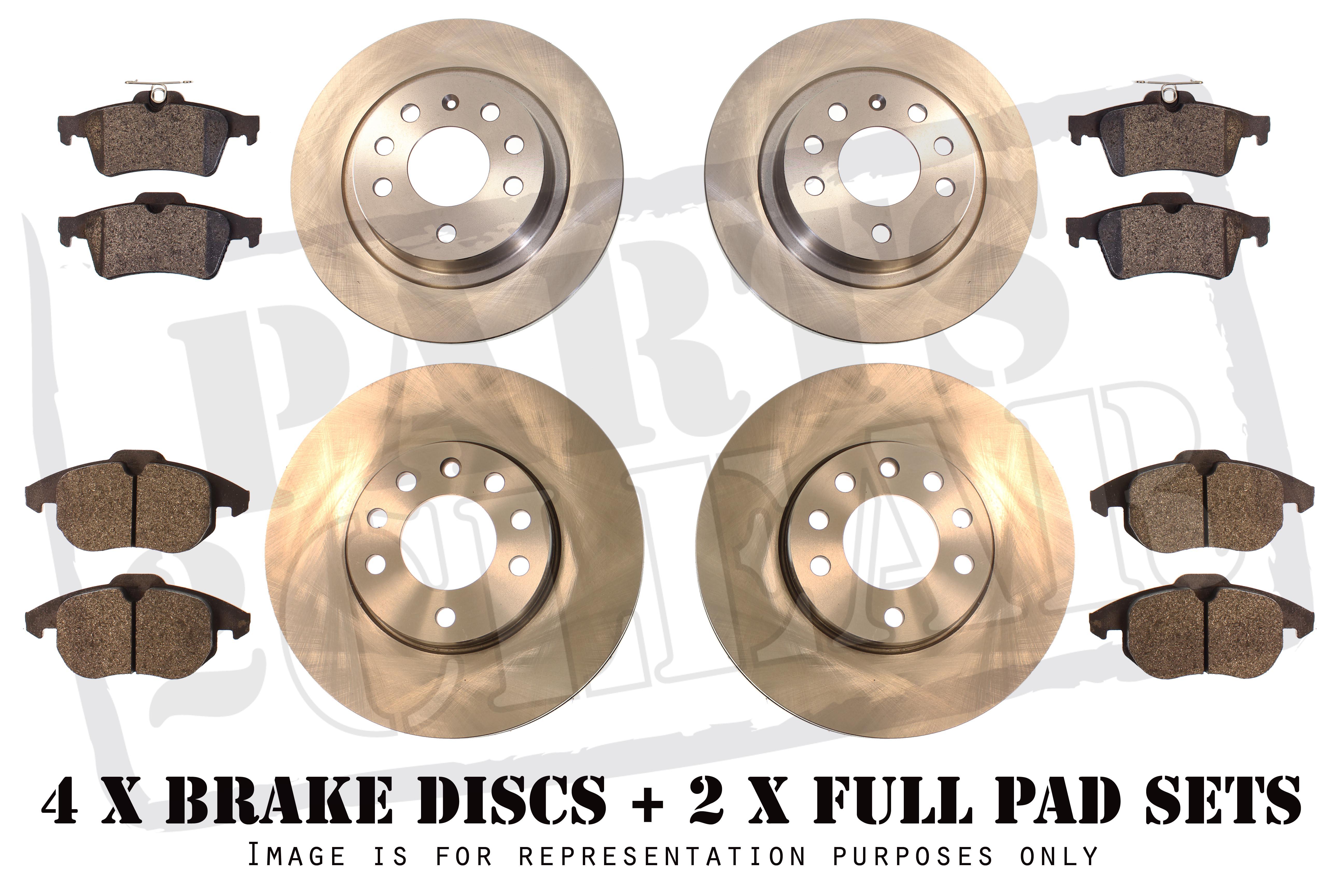 LEXUS RX300 RX350 RX400 FRONT REAR BRAKE PADS & DISCS 3 0 3 3 3 5