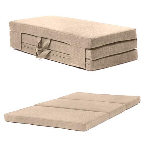 Fold Out Guest Mattress Foam Bed Single Amp