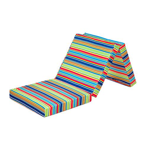 Folding Foam Mattress Queen Fold Up Costco Climbing Stripe Out Bed Guest Futon Chair Tri