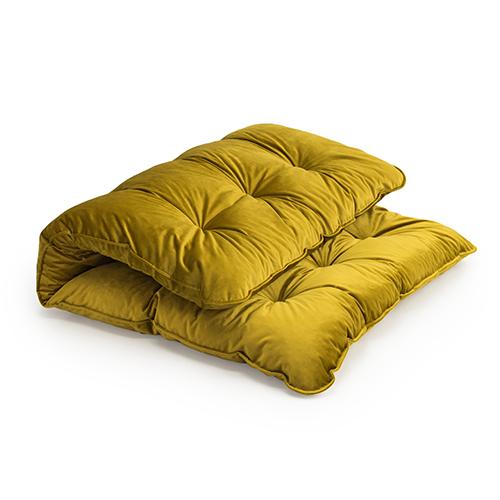 luxus samt memory foam crumb futon
