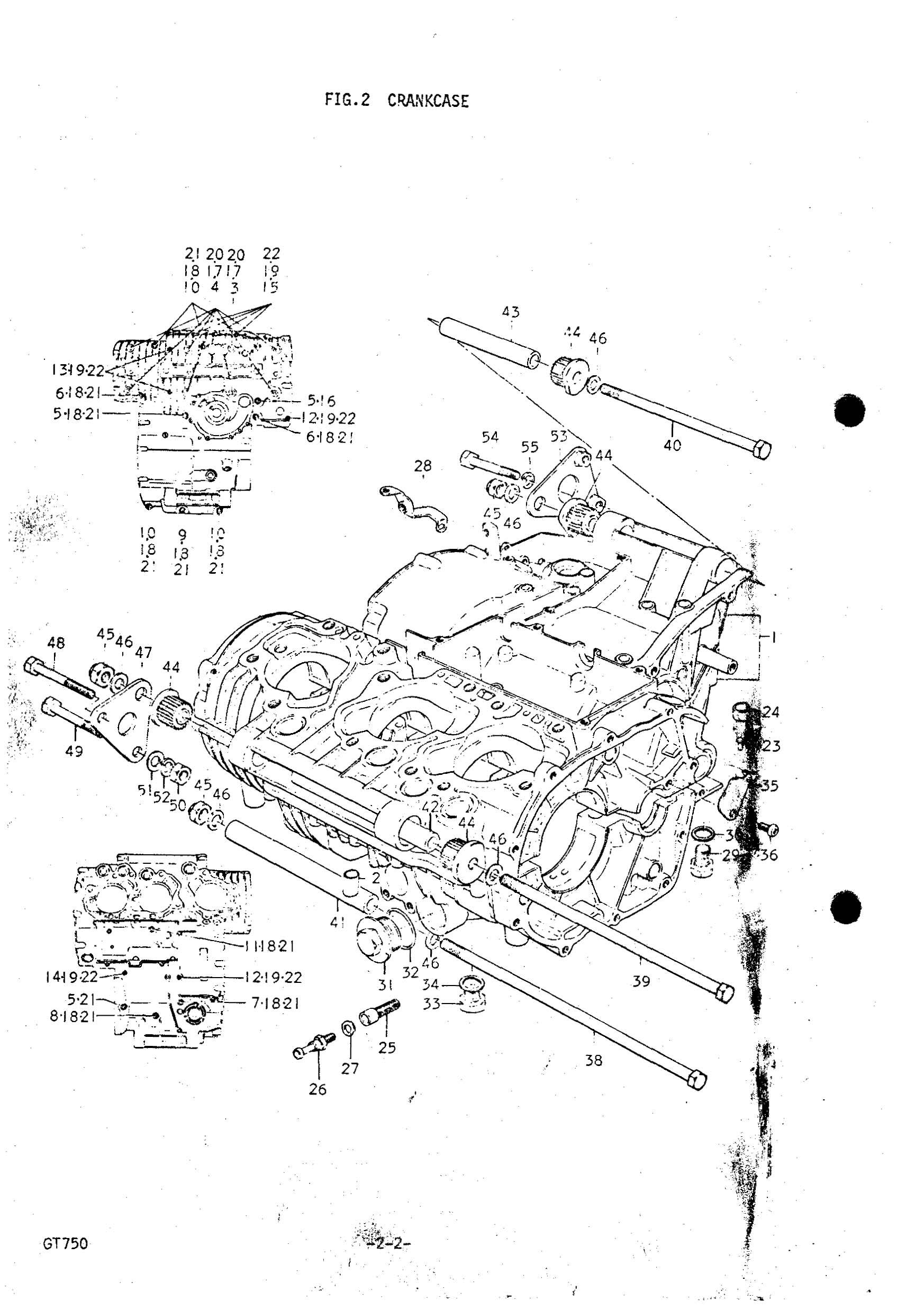 Genuine Suzuki Gt750 J M Crankcase Sris Check Valve 000