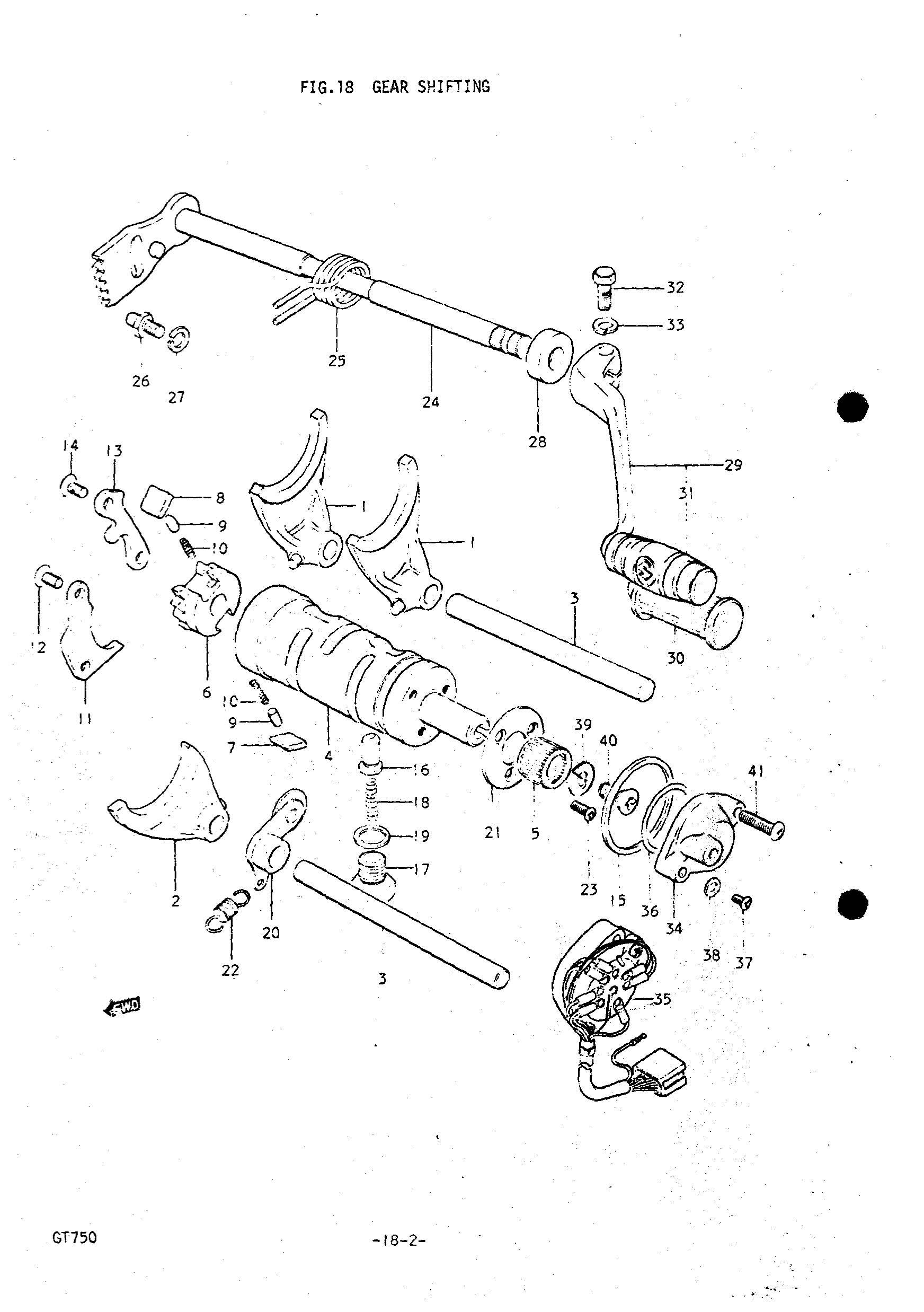 Suzuki Ozark Shifter Diagram