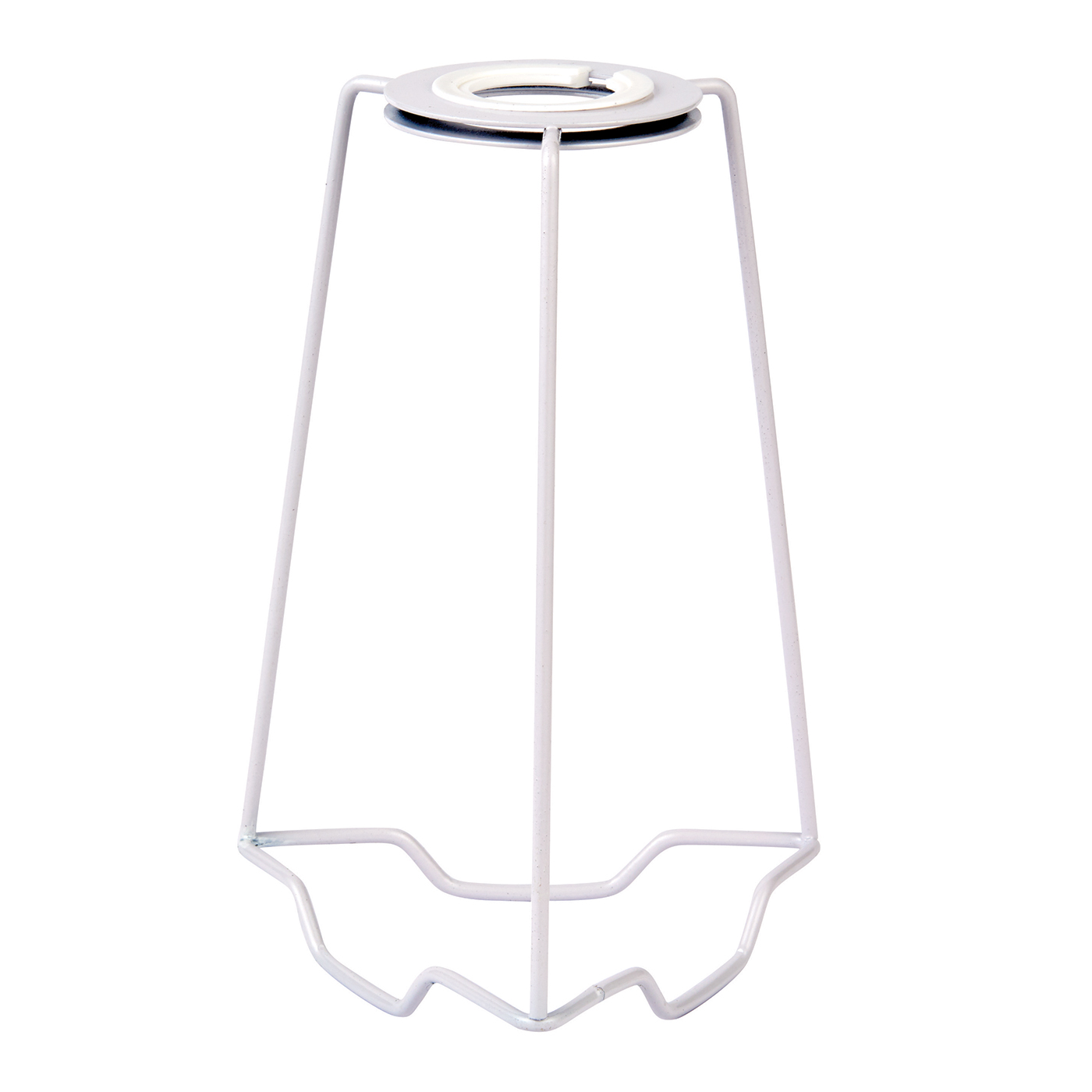 Endon Sc 7 Lampshade Carrier 7 Inch Gloss White 195mm