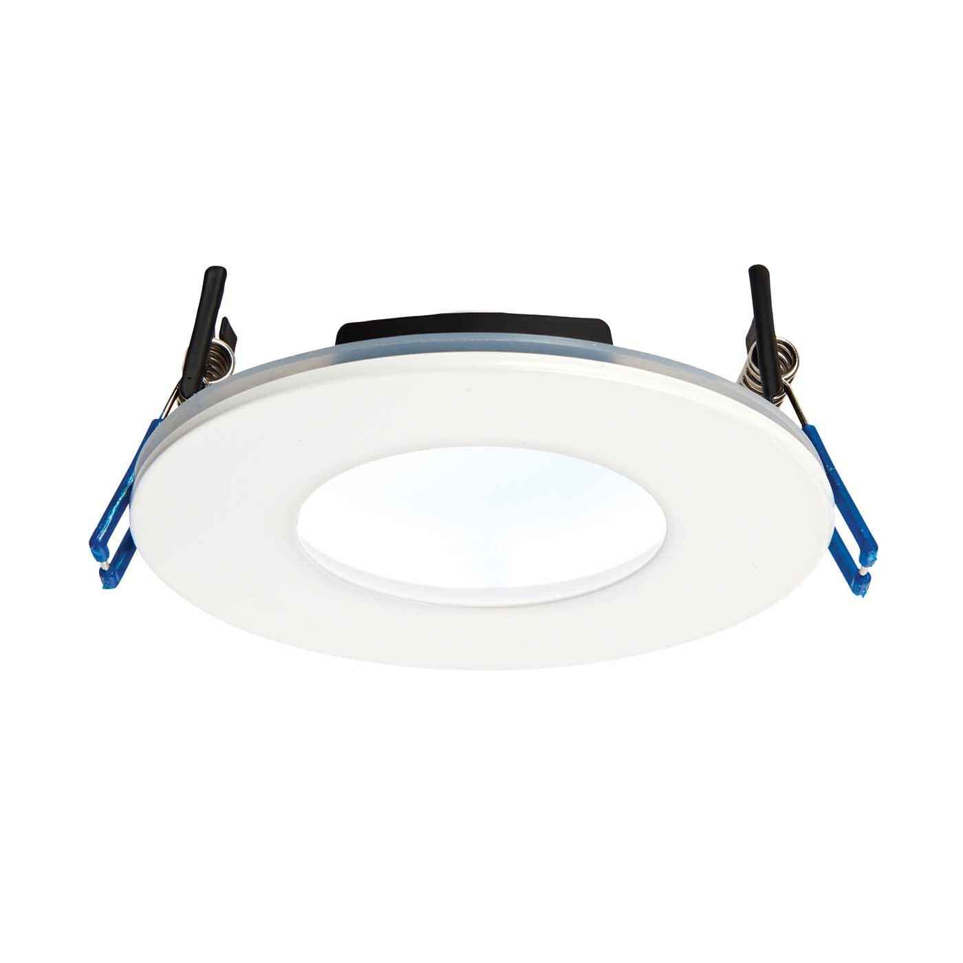Saxby Orbitalplus Bathroom Recessed Fixed Light Ip65 9w